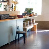 Gabriel Tan launches Shaker-inspired stool with Blå Station
