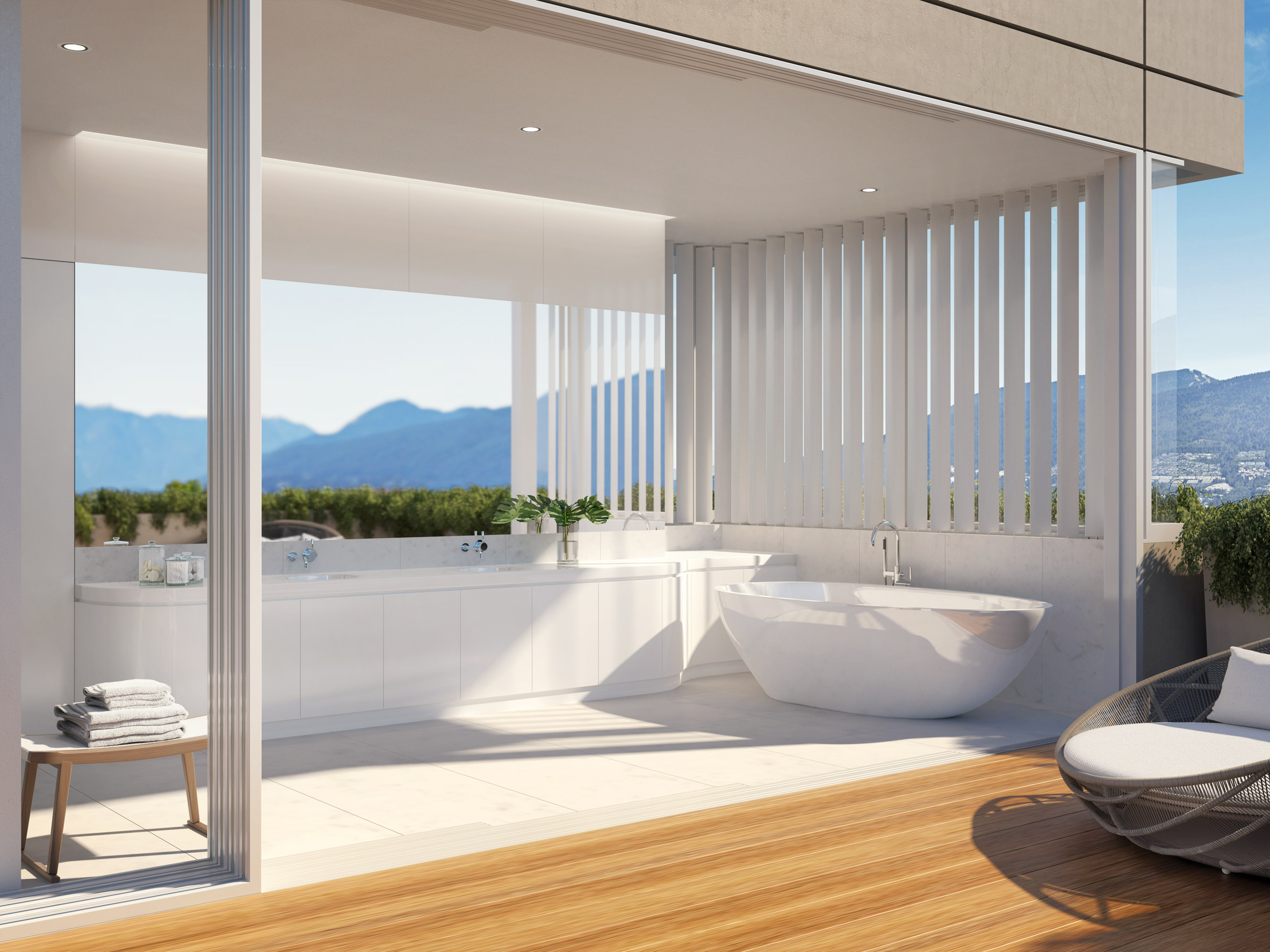 Terrace House by Shigeru Ban