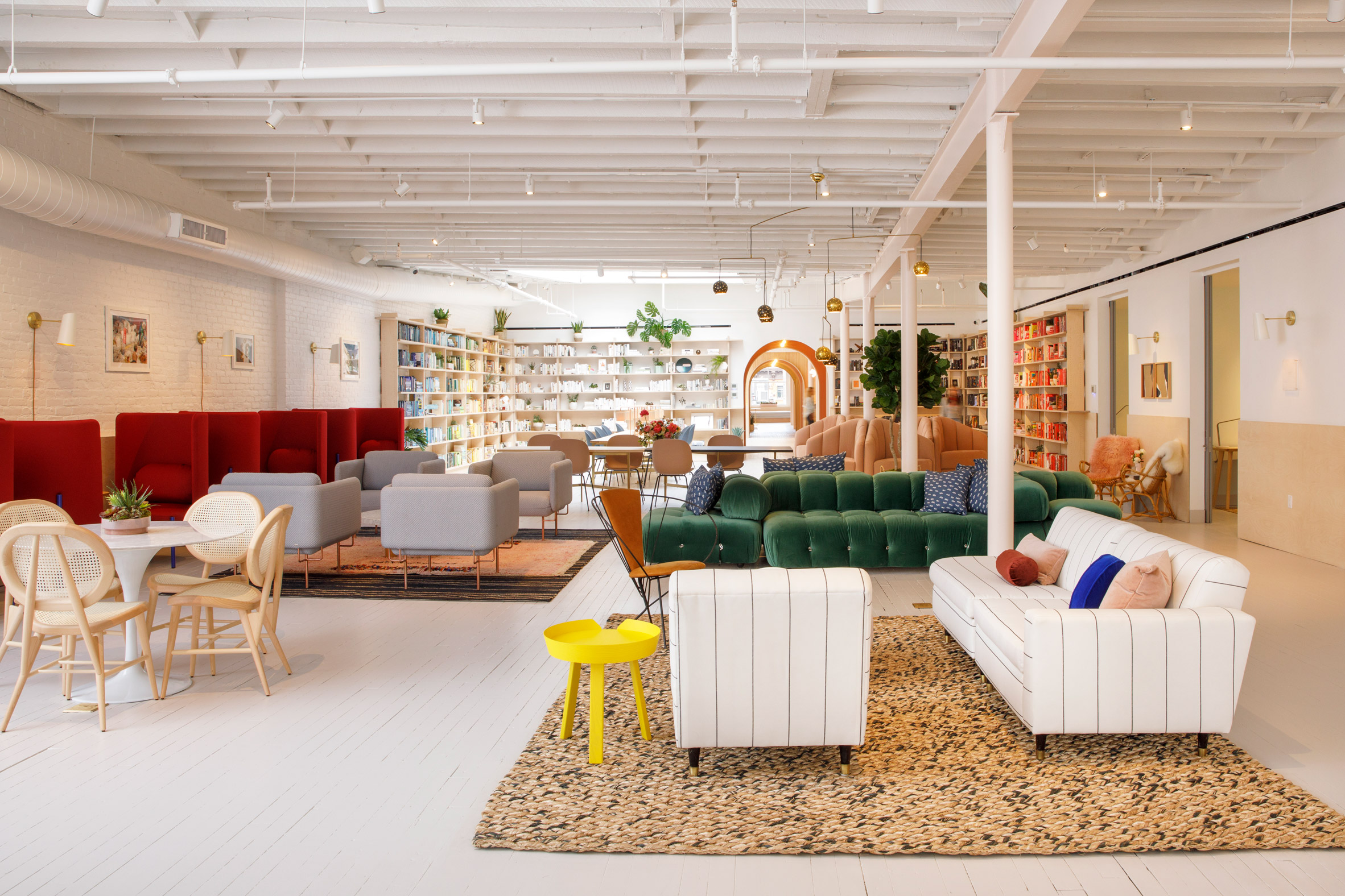 Female co-working club The Wing opens in New York loft