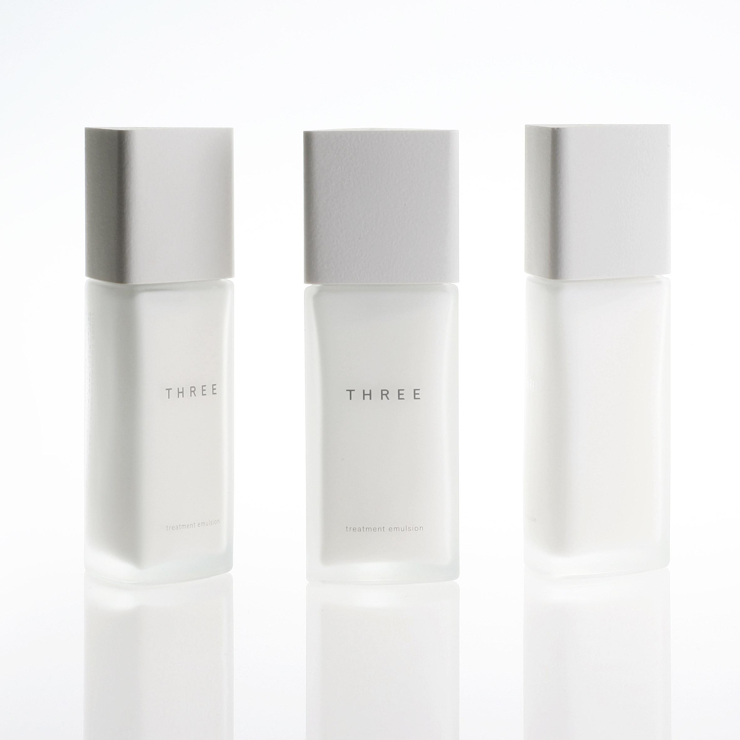 Tokujin Yoshioka designs minimal packaging for Japanese skincare brand