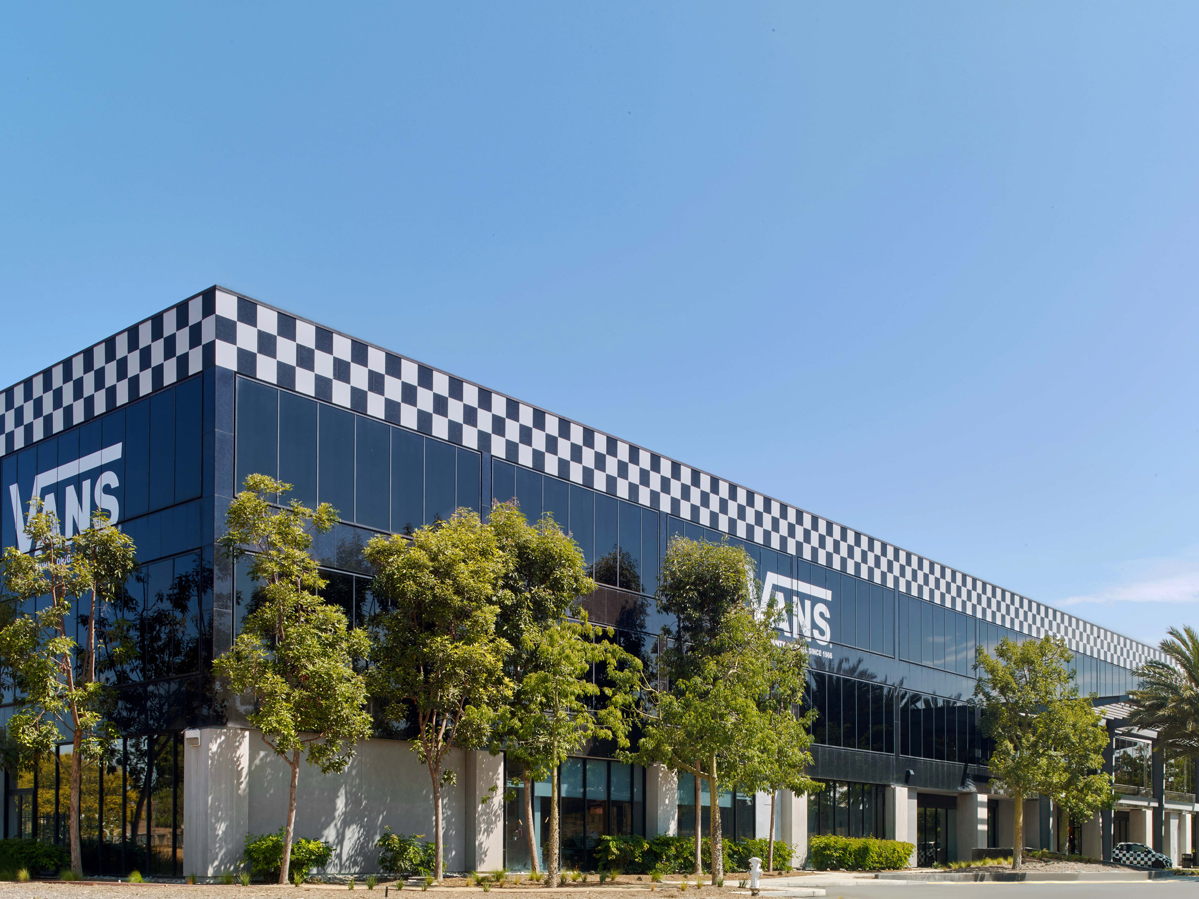 5519a41bb3 Vans headquarters by Rapt Studio nods to California street culture –  Architectural Autocad Drawings