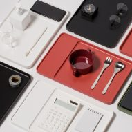 Pesi designs homeware that incorporates wireless charging