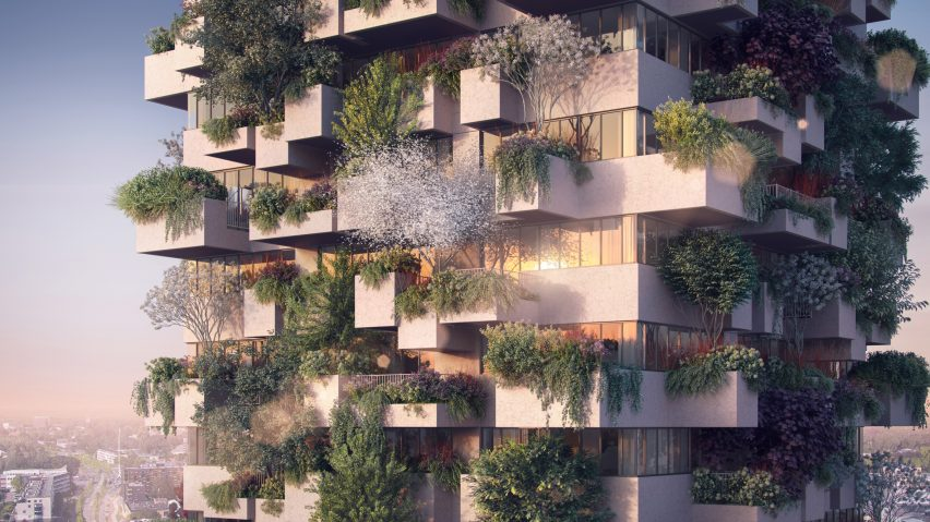 Trudo Vertical Forest in Eindhoven by Stefano Boeri Architetti
