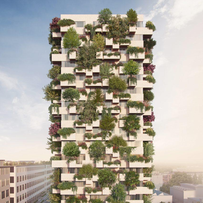 Trudo Vertical Forest in Eindhoven by Stefano Boeri Architetti
