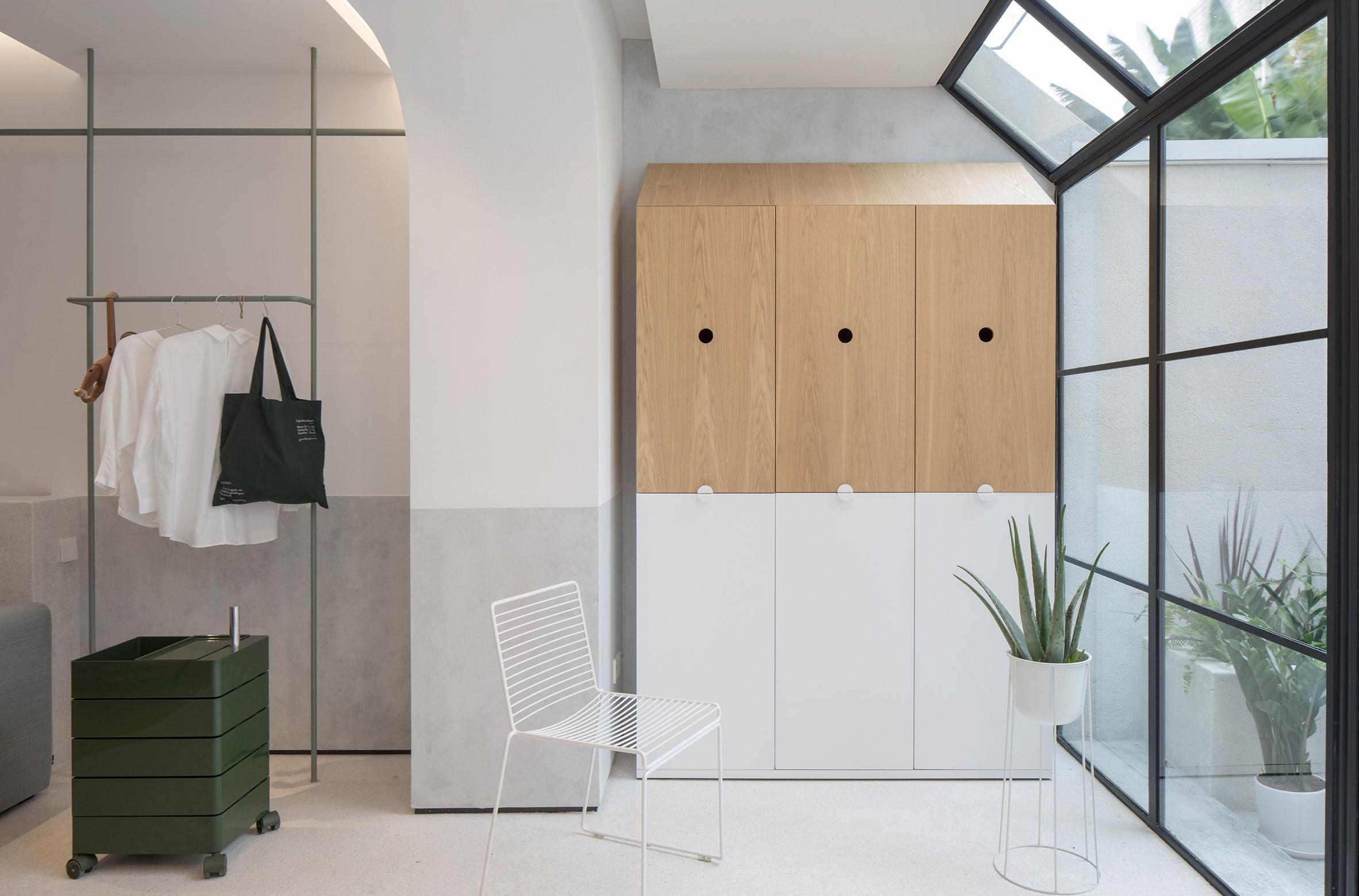 A minimalist house interior