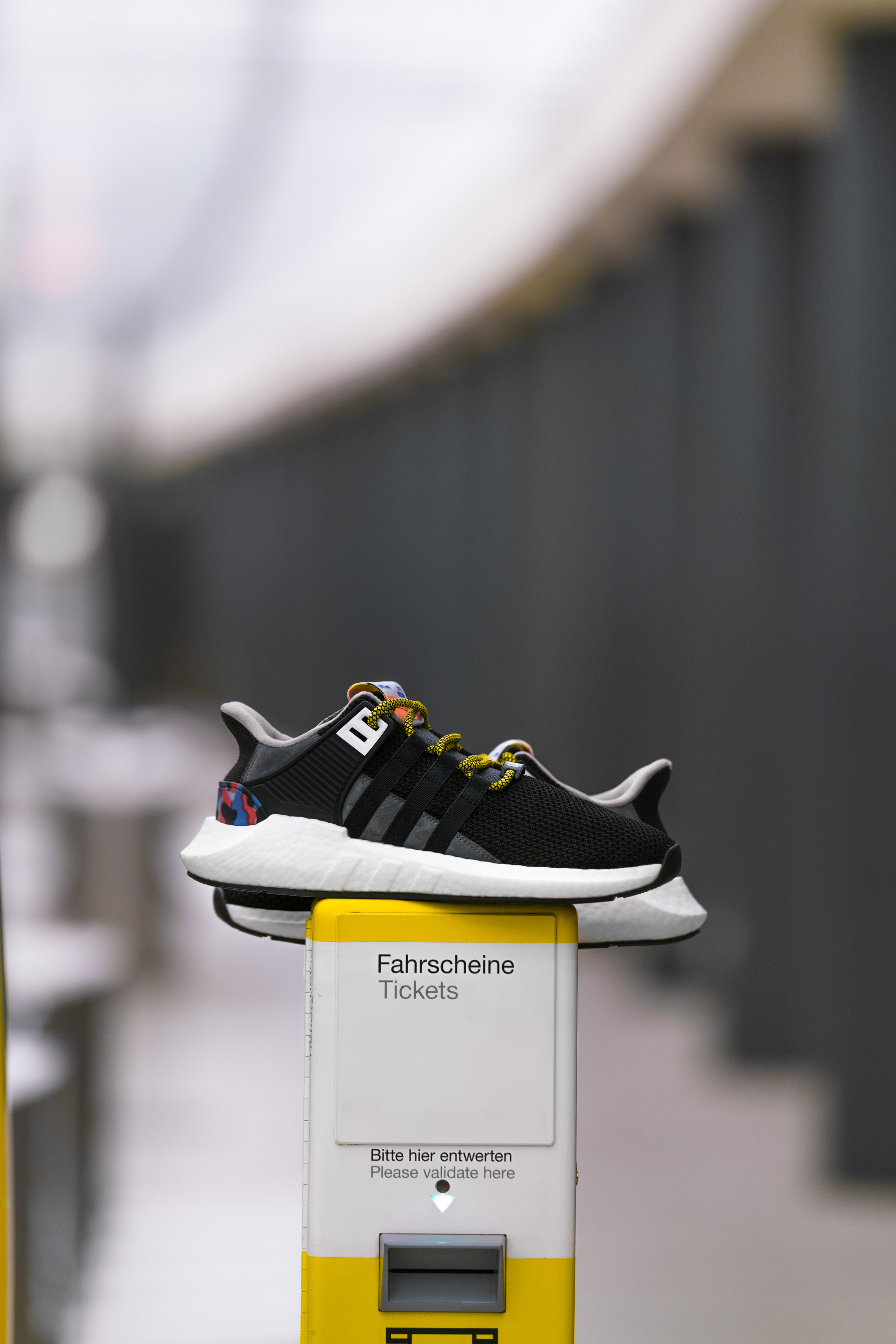 c06db6d531c5f8 Adidas releases limited-edition trainers that match Berlin subway seats