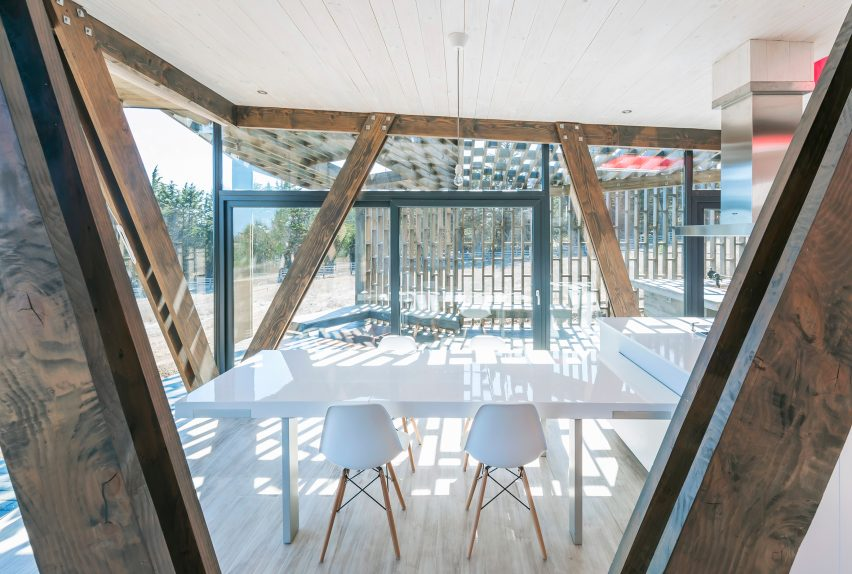 Almost Cube House by Land Arquitectos