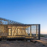Pine-wrapped beach house on Chile's coast offers panoramic ocean views