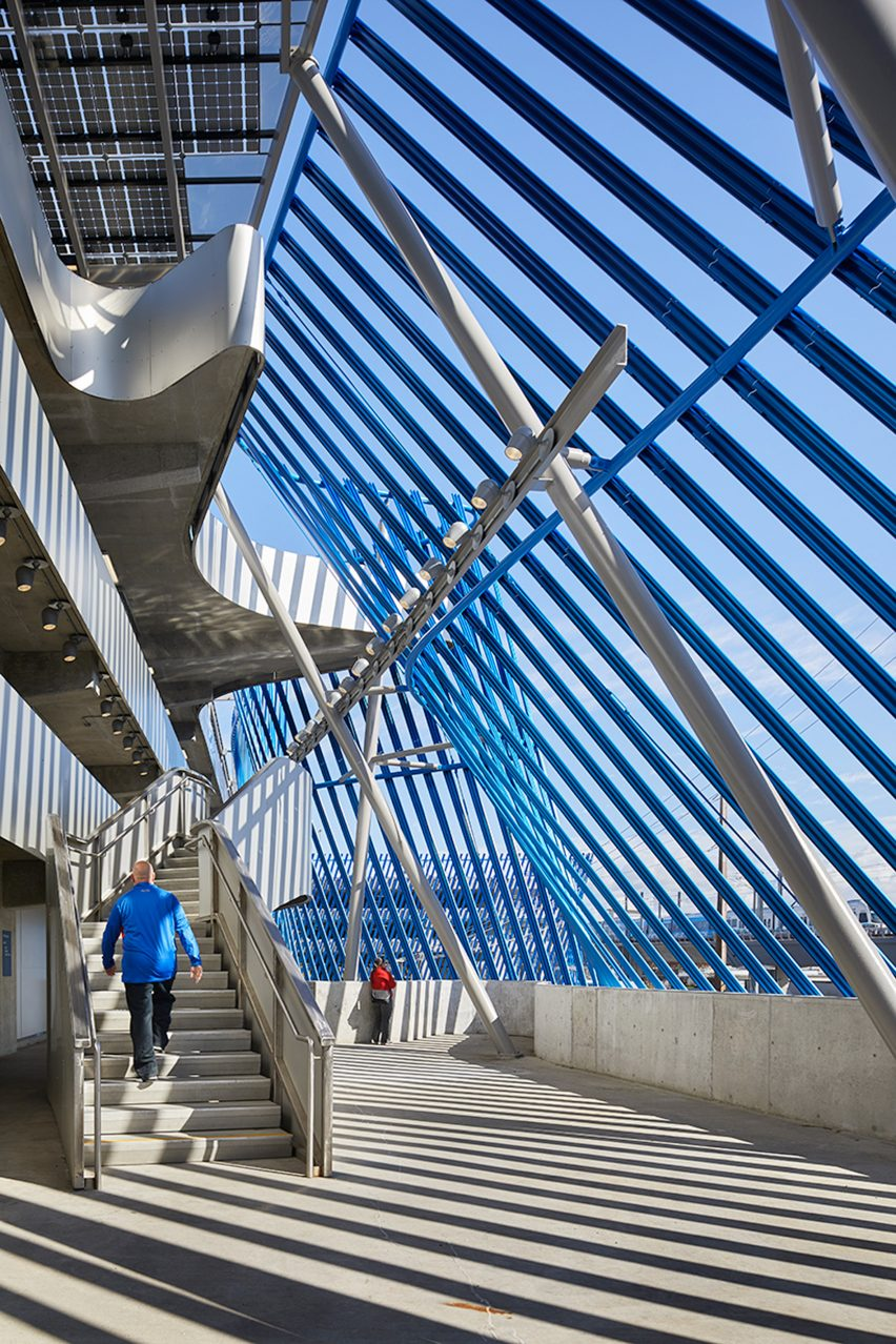 Angle Lake Station at Seattle Airport by Brooks + Scarpa