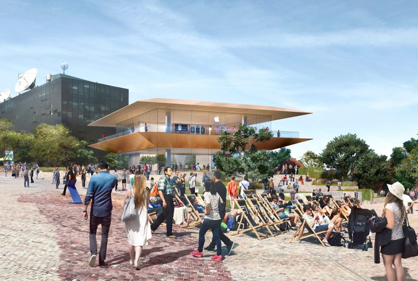 Federation Square Apple Store by Foster + Partners cancelled
