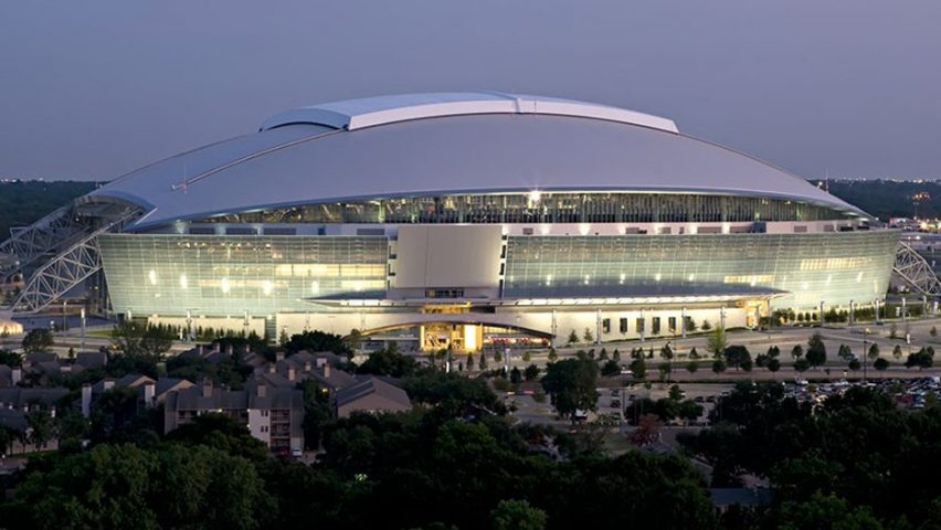 AT&T Stadium by HKS, Arlington, Texas