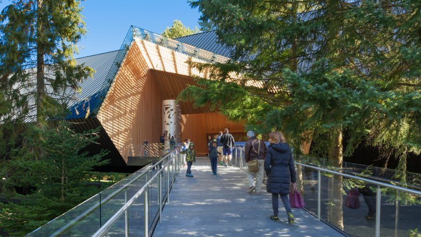 The Audain Art Museum; British Columbia, Canada, by Patkau Architects