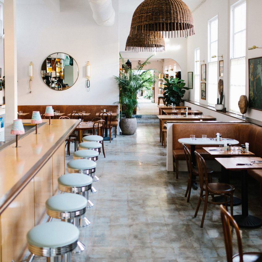 Vintage Objects Populate Restaurant In Charleston By Basic Projects Archiweb 3 0