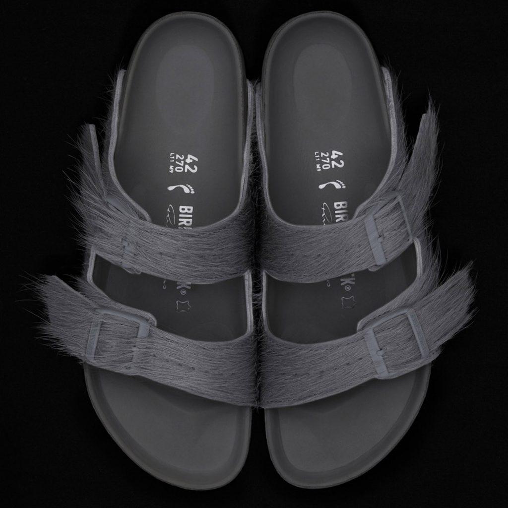 Rick Owens creates calf-hair sandals