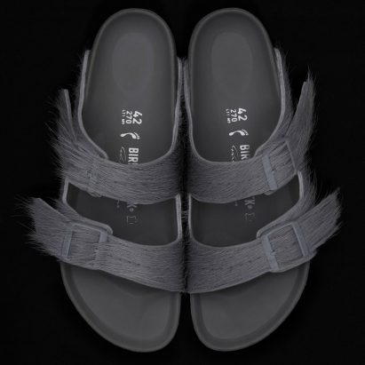 Rick Owens unveils Birkenstock collaboration in Los Angeles store