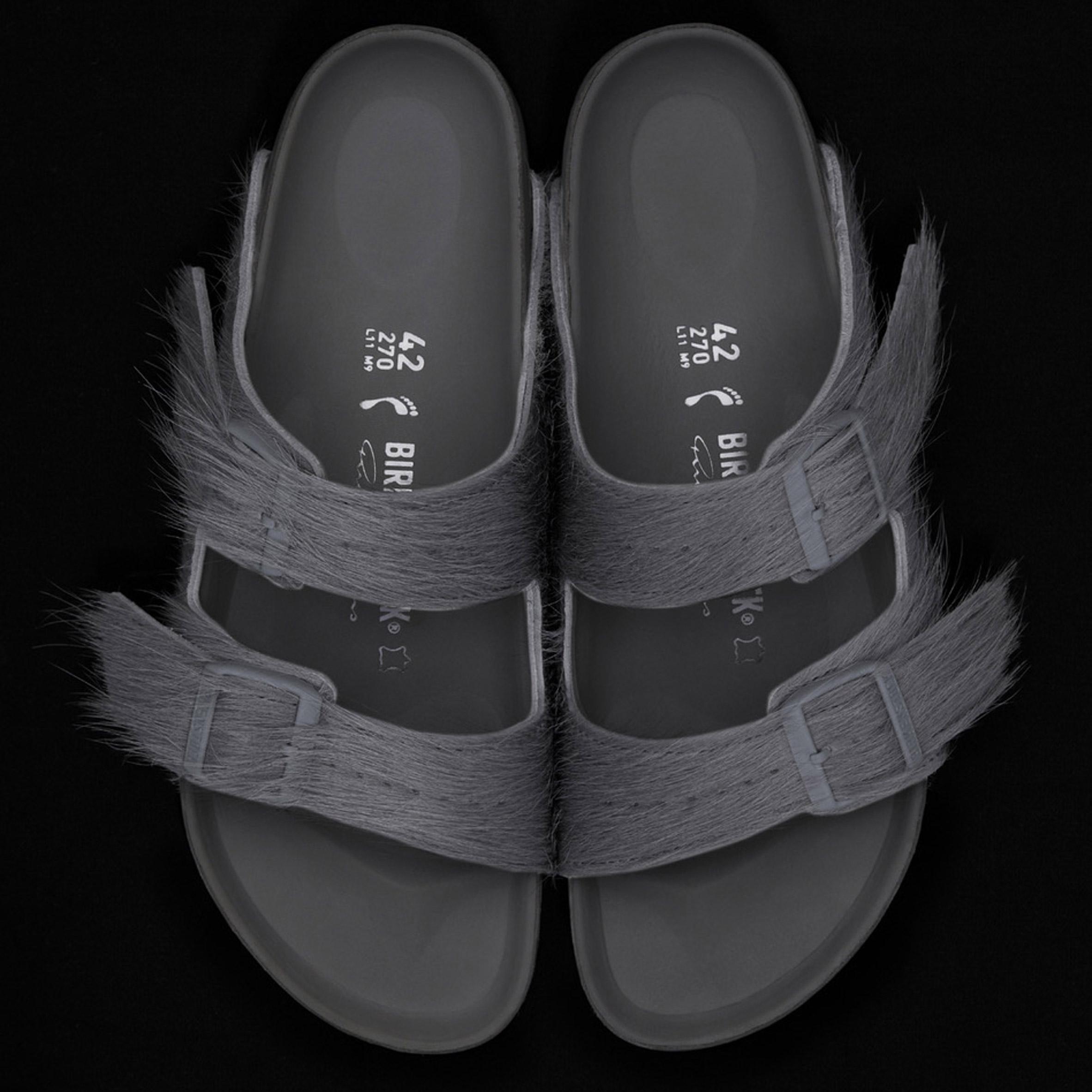 Rick Owens creates calf-hair sandals for Birkenstock. Fashion designer Rick  Owens has ... a863e8eb0