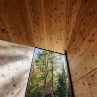 Cabin on a Rock by I-Kanda Architects