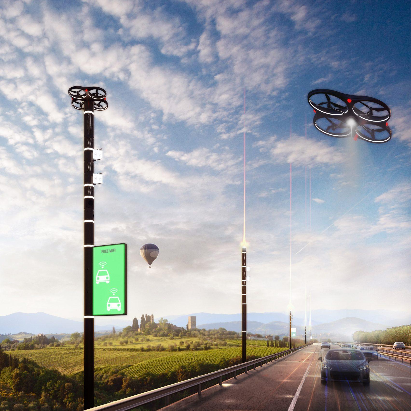 drón önvezető járművek okos közlekedés Carlo Ratti Olaszország