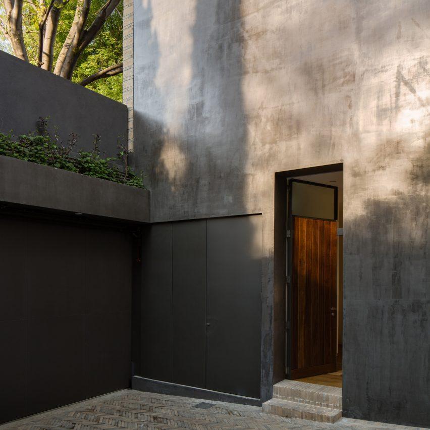 courtyards casa campestre 107 house dcpp mexico city