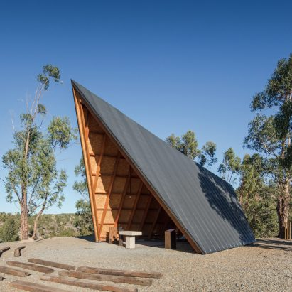 Open Air Chapel Designed By Plano Humano Arquitectos To Resemble Scoutu0027s  Tent