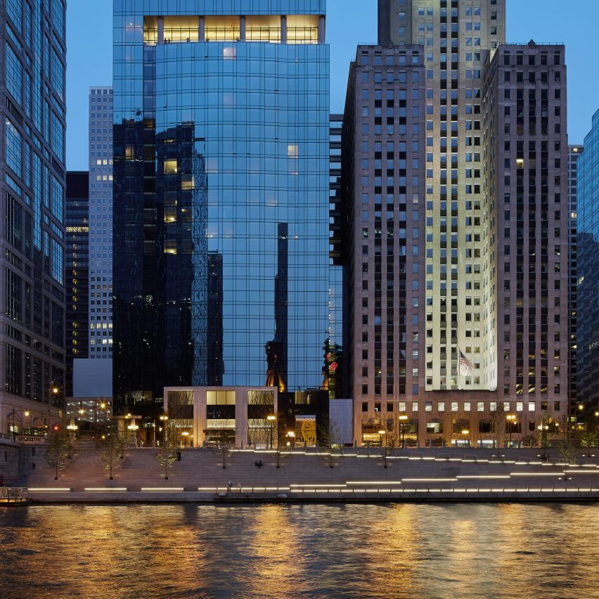 Chicago Riverwalk; Chicago, by Ross Barney Architects