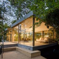 Cloaked House by Ernesto Pereira is designed to disappear into its arboreal setting