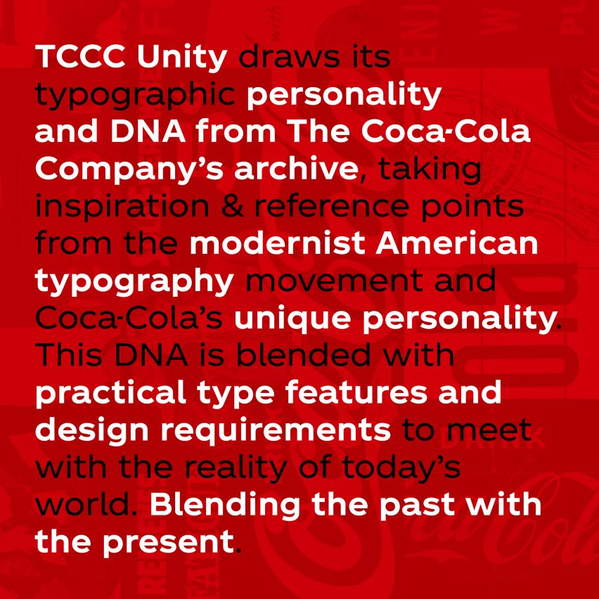 Neville Brody designs Coca-Cola's first ever own-brand typeface