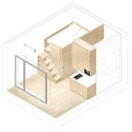 Compact Living flat by Ab Rogers Design