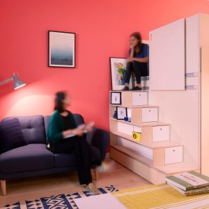 CIAO adds spacesaving custom furniture to London micro apartment