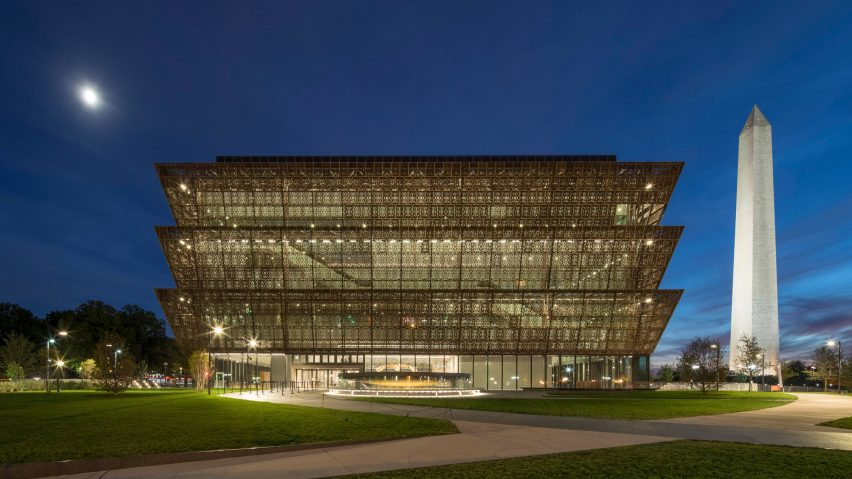 adjaye s african american history museum wins design of the year 2017