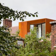 DeDraft completes weathering-steel roof extension for £60,000
