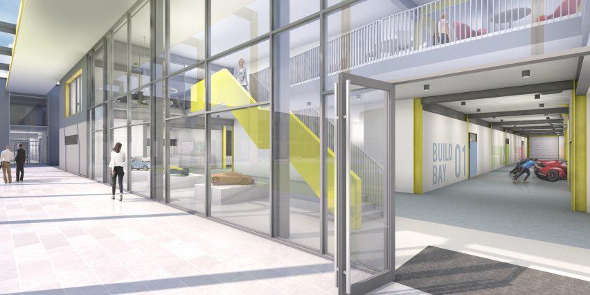 Gordon Murray Design headquarters by Design Engine