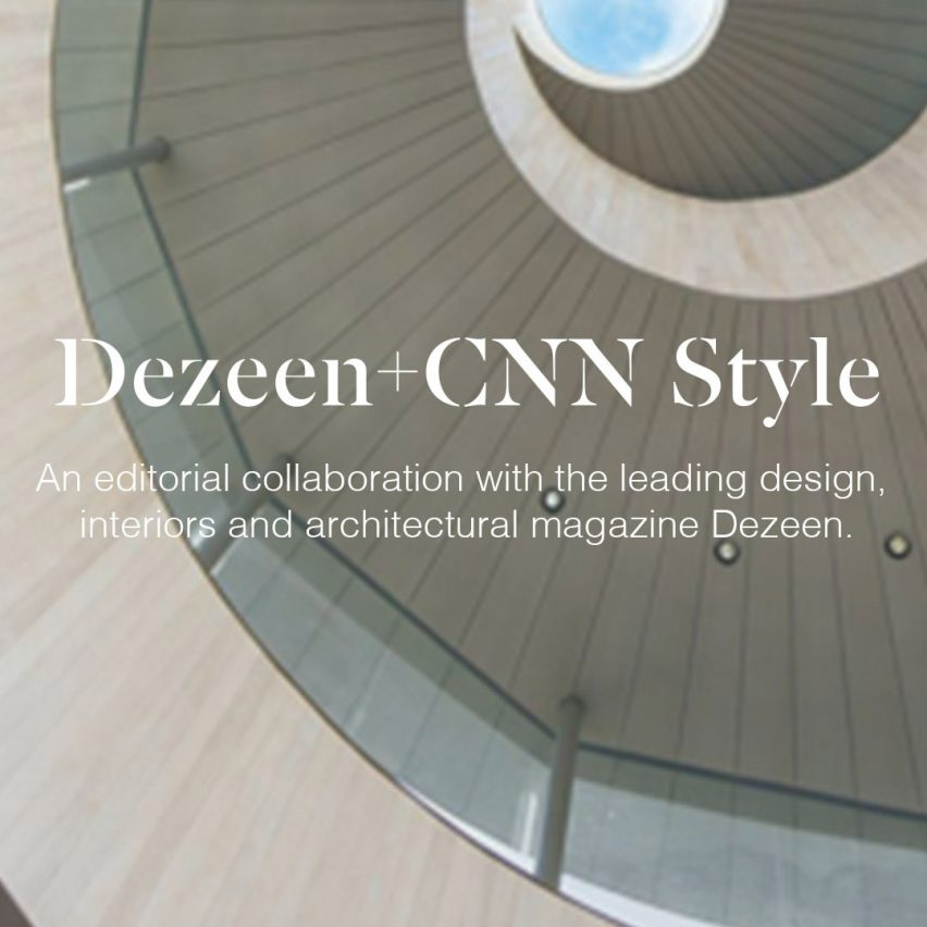 Dezeen curates architecture trends microsite for CNN Style