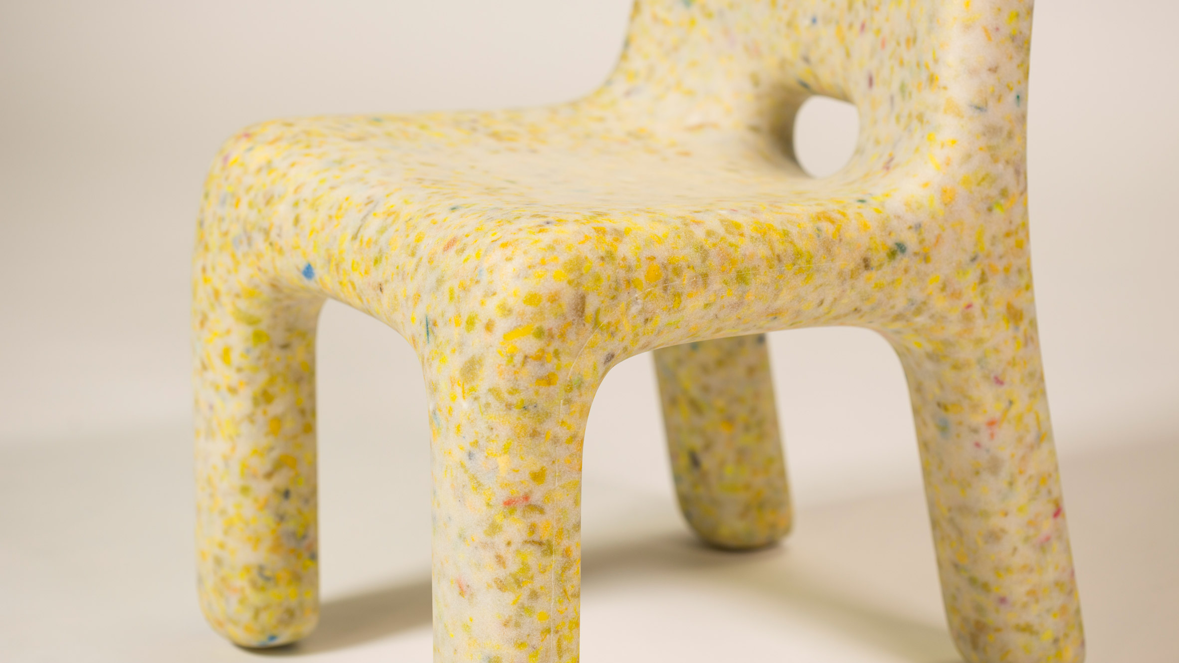 Plastic Furniture Made From Old Toys Introduces Kids To The Circular Economy