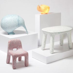 Plastic Furniture Made From Old Toys Introduces Kids To The Circular