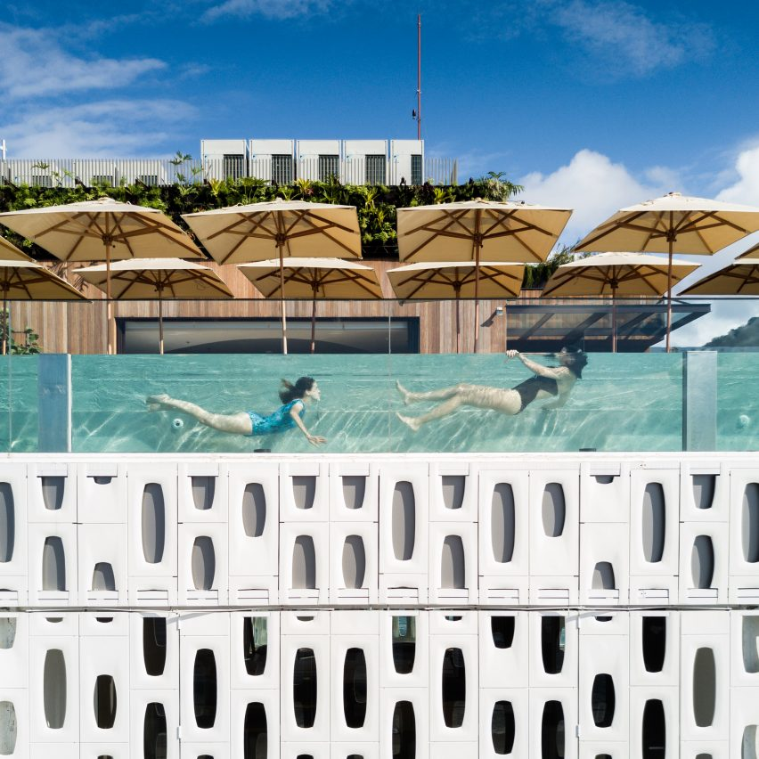 Emiliano Hotel by Oppenheim Architecture, Dezeen's top hotels
