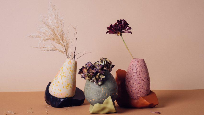 3D Printed Vases by Wang & Söderström