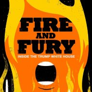 Edel Rodriguez imagines alternative cover for Trump exposé Fire and Fury