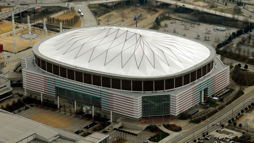 Georgia Dome by Scott W Braley, Atlanta, Georgia