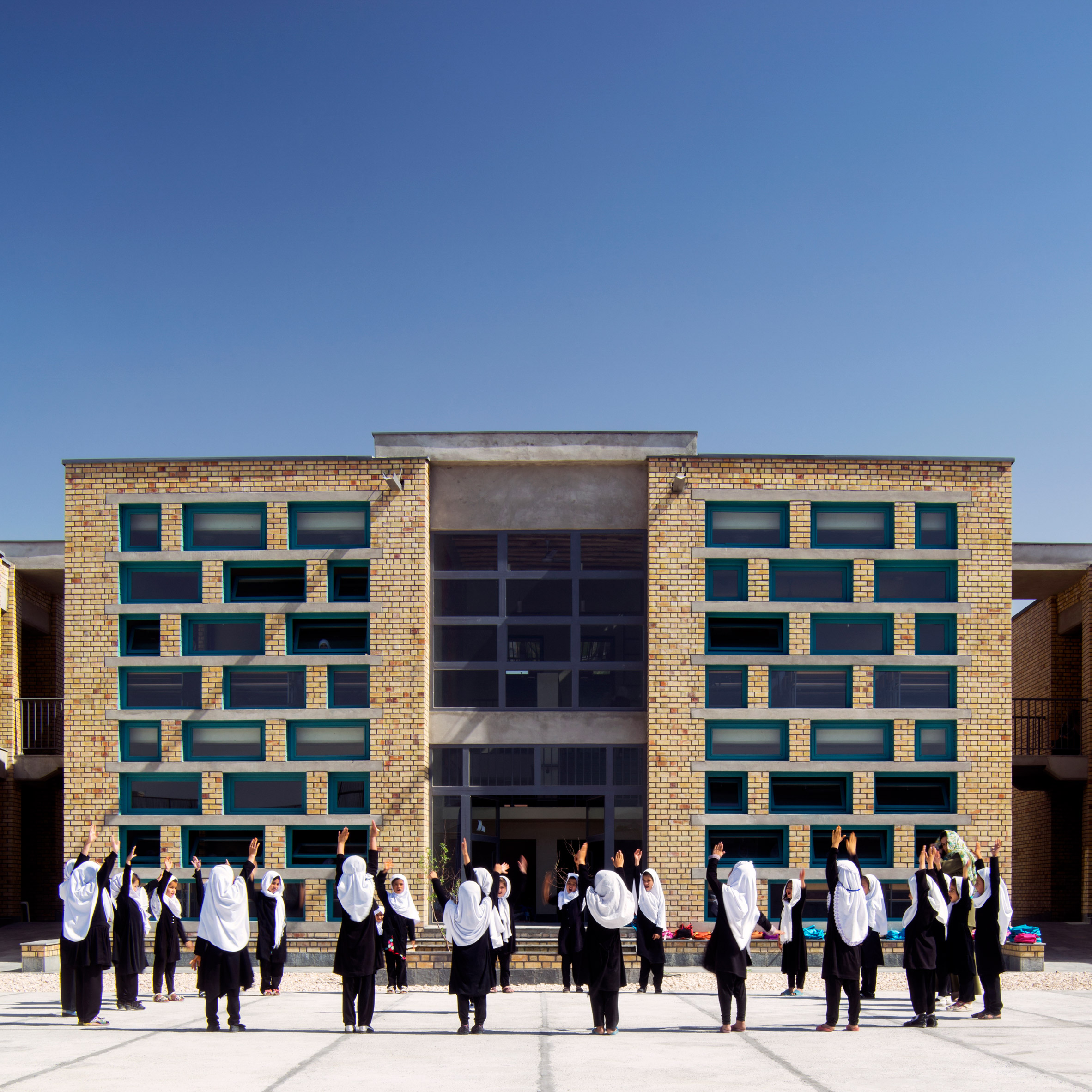 Gohar Khatoon Girls' School; Mazar-i-Sharif, Afghanistan, by Robert Hull and the University of Washington's architecture department