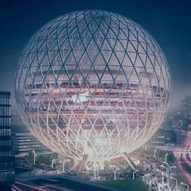 Giant globe-shaped concert hall planned for east London