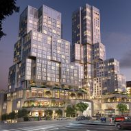 Frank Gehry updates The Grand mixed-use development for Downtown LA