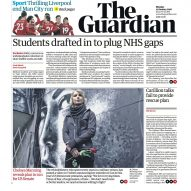 Guardian newspaper unveils new font and logo in major redesign