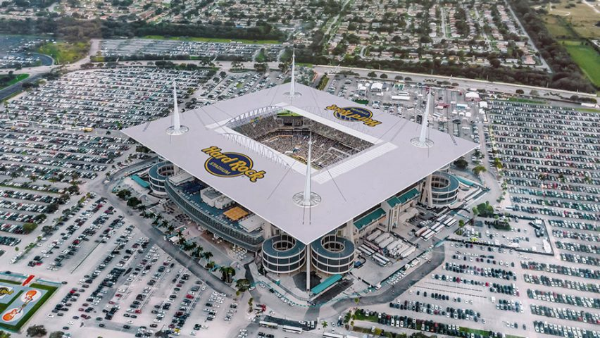 Hard Rock Stadium by Populous‎, Miami, Florida