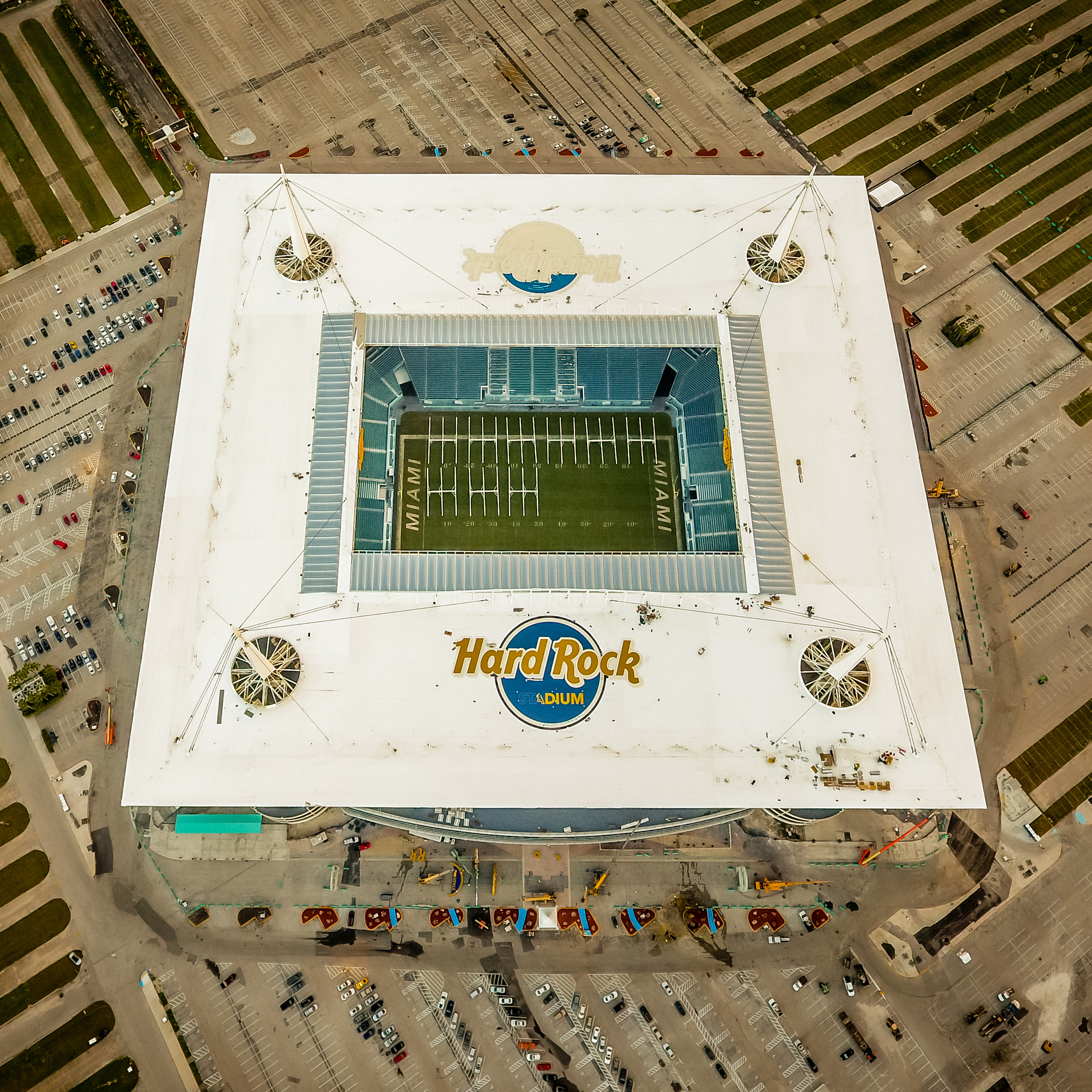 Hard Rock Stadium by Populous, Miami, Florida