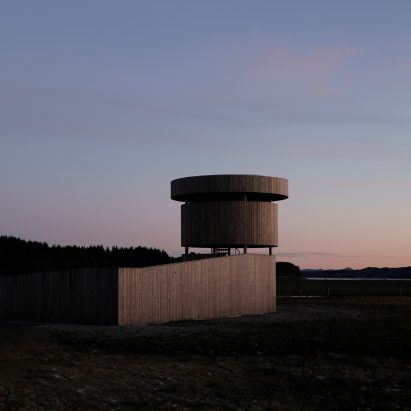 Herdla Birdwatching Tower by LJB Arkitektur