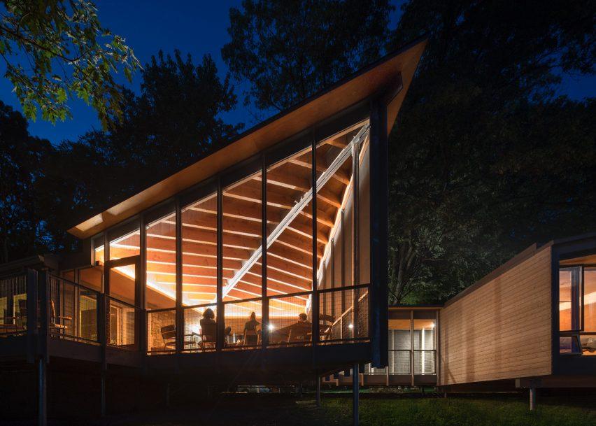 High Meadow Cabins by Bohlin Cywinski Jackson