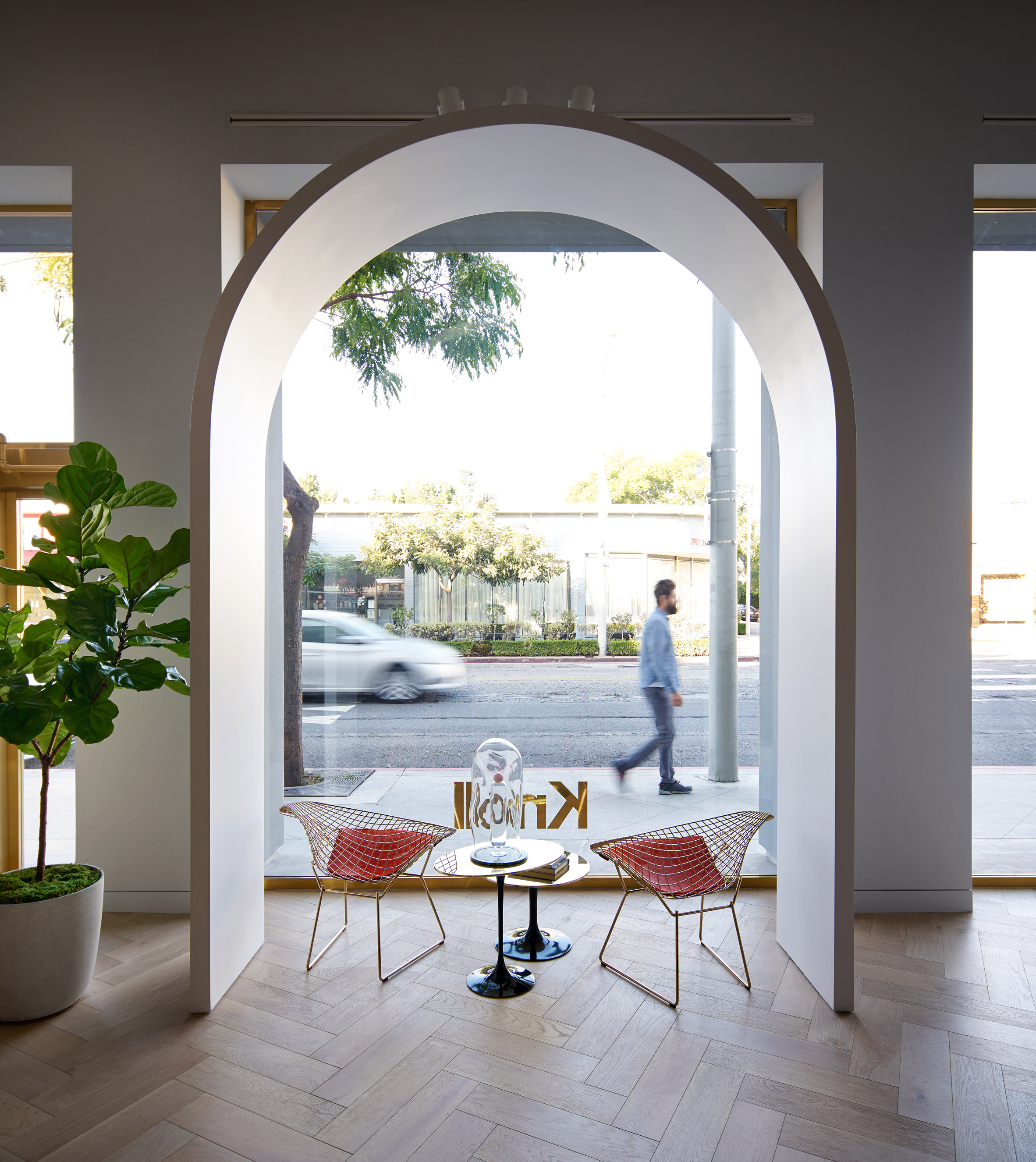 Knoll opens LA store based on Moroccan castle by Johnston Marklee ...