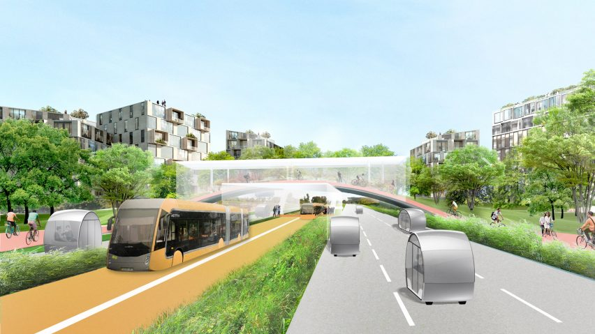 Other Strategies Include Introducing A New Bus Transit Loop And Systems For  Autonomous Vehicles And Public Transport