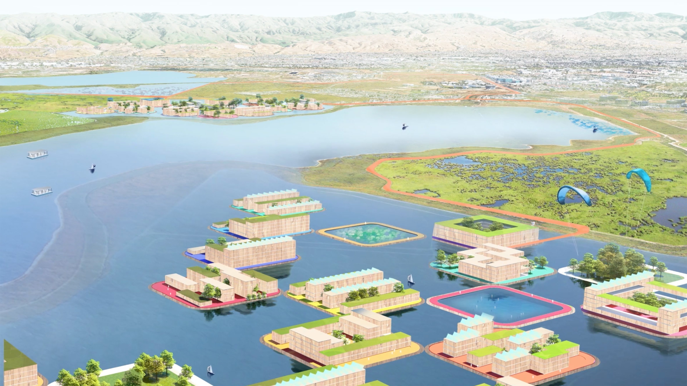 BIG unveils scheme to protect San Francisco creek from flooding